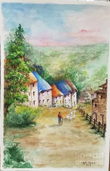 Wall Art - Painting - English Countyside  by Lydia  Falletti