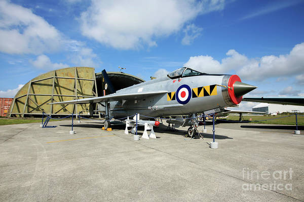 Wall Art - Photograph - English Electric Lightning F53, Zf580 / 95277 by Terri Waters