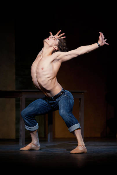 Wall Art - Photograph - English National Ballet Rehearses For by Ian Gavan