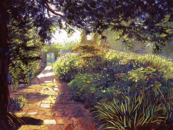 Painting - English Royal Garden by David Lloyd Glover