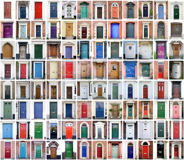 Georgian Photograph - English Shire Doors by Peteraustin
