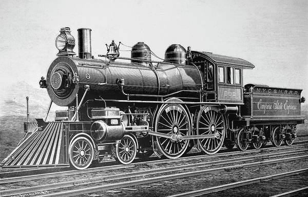 Wall Art - Photograph - Engraving Depicting A Class 999 by Uig