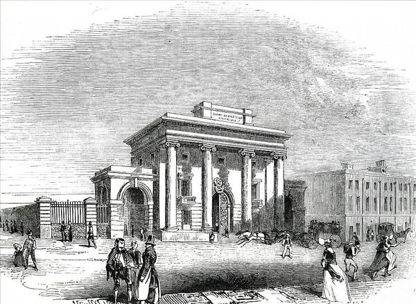 Wall Art - Photograph - Engraving Depicting The Birmingham by Uig