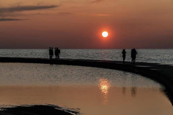 Photograph - Enjoying The Sun Rise by Sven Brogren