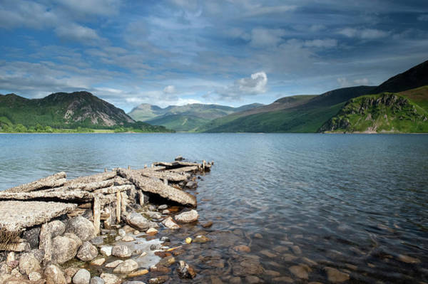Wall Art - Photograph - Ennerdale Water In The Lake District by Uig