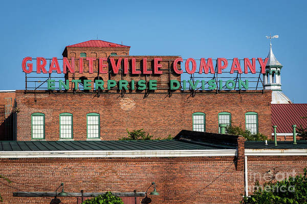 Photograph - Enterprise Mill - Graniteville Company - Augusta Ga 1 by Sanjeev Singhal