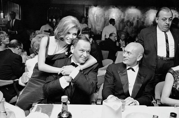 Las Vegas Photograph - Entertainer Frank Sinatra C Getting by John Dominis