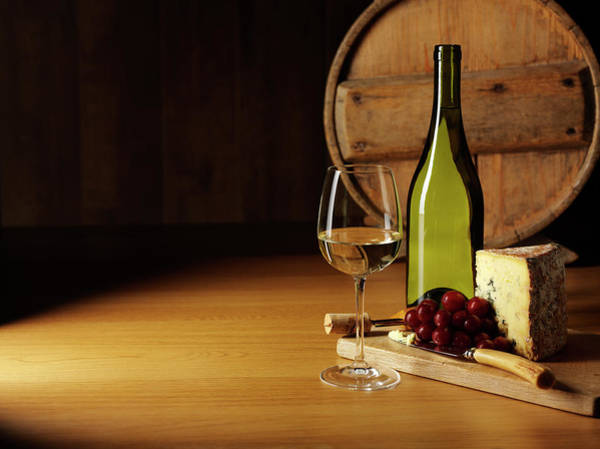 Wall Art - Photograph - Entertaining With Cheese And Wine by Wragg