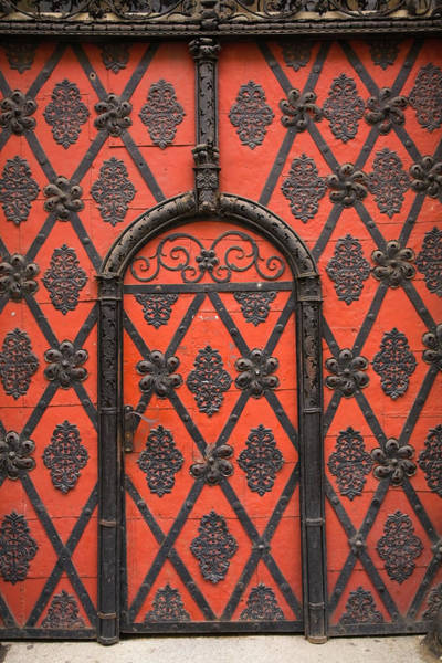 Design Photograph - Entrance Door Details On A Building by Perry Mastrovito / Design Pics