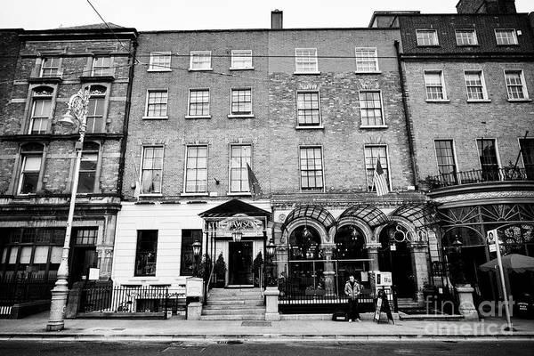 Wall Art - Photograph - Entrance To The Dawson Hotel And Sams Bar Dawson Street Dublin Republic Of Ireland Europe by Joe Fox