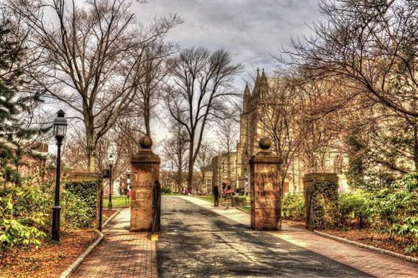 Wall Art - Photograph - Entrance To The Gardens At Princeton University In New Jersey by Geraldine Scull