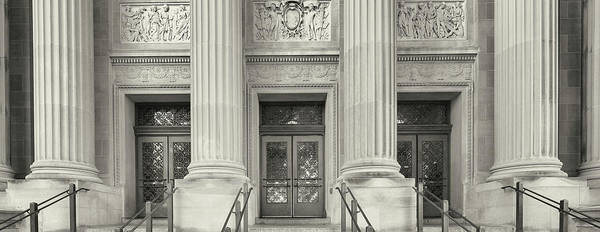 Wall Art - Photograph - Entrance To The University Building by Panoramic Images