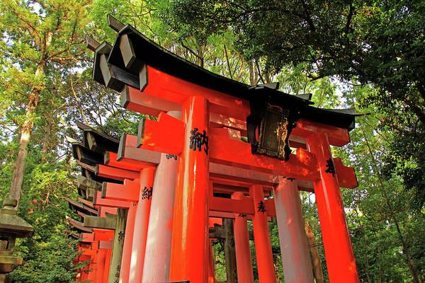 Photograph - Entrance To Torii Gates - Fushimi Inari-taisha Shrine - Kyoto, Japan  by Richard Krebs