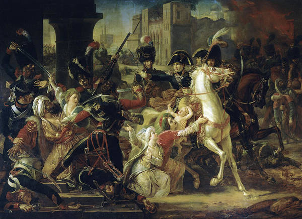 Wall Art - Painting - Entry Of General Bonaparte Into Alexandria, Egypt, 1798 by Guillaume-Francois Colson