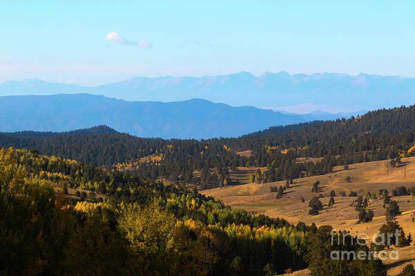 Photograph - Entry Phantom Canyon Colorado In Autumn by Steve Krull