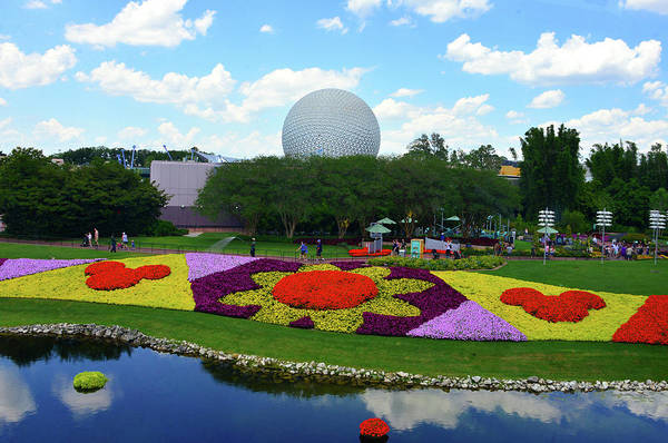Epcot Center Wall Art - Photograph - Epcot Flower And Garden 2019 by David Lee Thompson