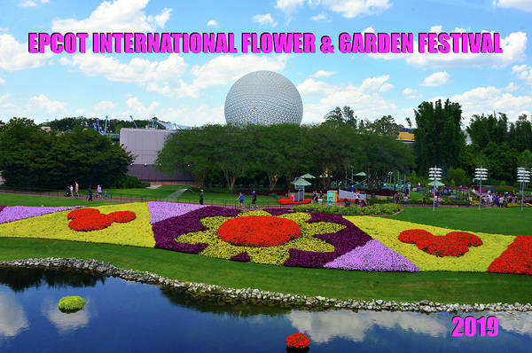 Wall Art - Photograph - Epcot Flower And Garden Fest 2019 Poster B by David Lee Thompson