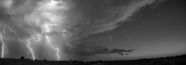 Photograph - Epic Nebraska Lightning 023 by NebraskaSC