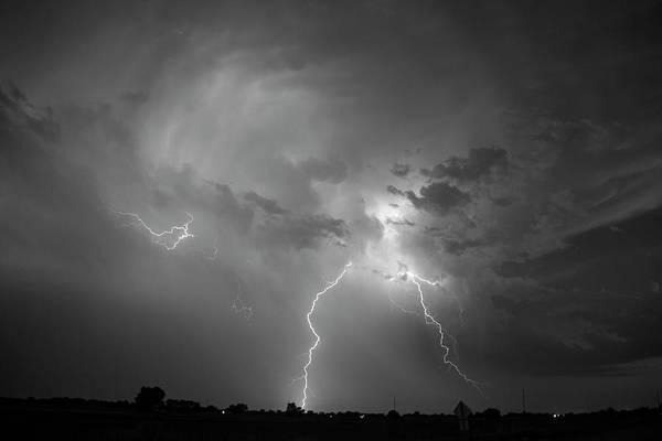 Photograph - Epic Nebraska Lightning 025 by NebraskaSC