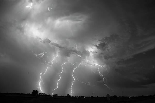 Photograph - Epic Nebraska Lightning 029 by NebraskaSC