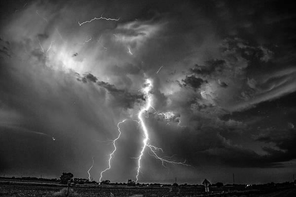 Photograph - Epic Nebraska Lightning 031 by NebraskaSC
