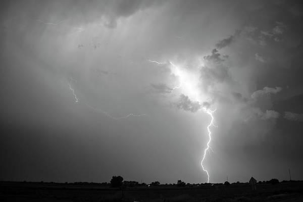 Photograph - Epic Nebraska Lightning 036 by NebraskaSC