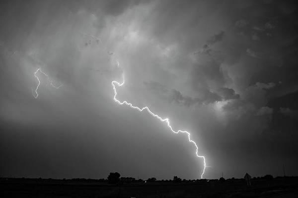 Photograph - Epic Nebraska Lightning 038 by NebraskaSC