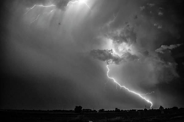 Photograph - Epic Nebraska Lightning 040 by NebraskaSC