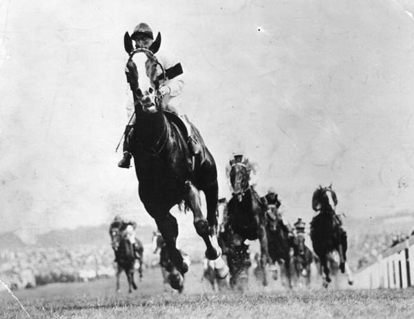 Epsom Derby Photograph - Epsom Derby by Hulton Archive