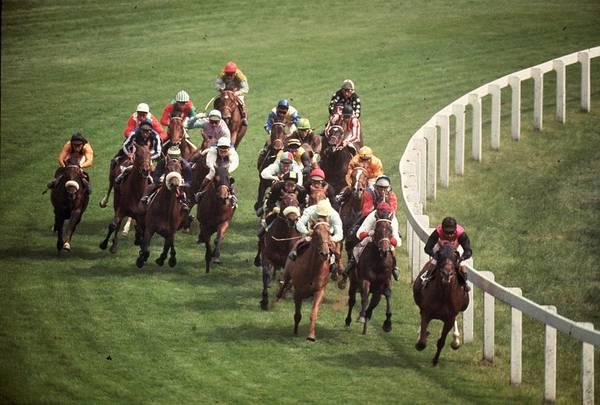 Epsom Derby Photograph - Epsom Races by A. Jackson