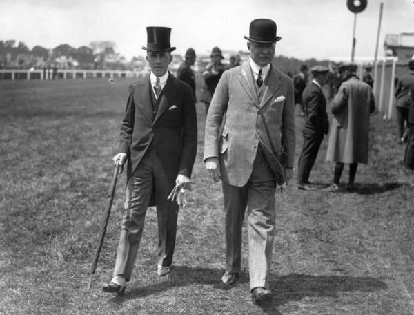 Suit Photograph - Epsom Races by H E Davis