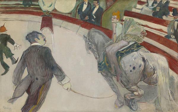 Wall Art - Painting - Equestrienne by Henri de Toulouse-Lautrec