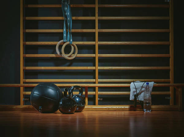 Sports Training Photograph - Equipment For Functional Training At by Westend61