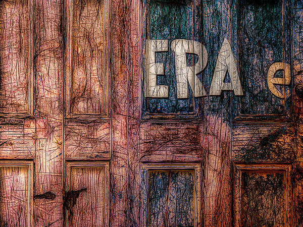 Photograph - ERA by Paul Wear