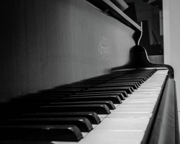 Art Print featuring the photograph Erard Piano by Borja Robles