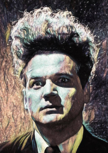 Wall Art - Painting - Eraserhead by Zapista Zapista