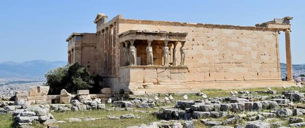 Erechtheion Photograph - Erechtheion - Dedicated To The One I Love by Janet Marie
