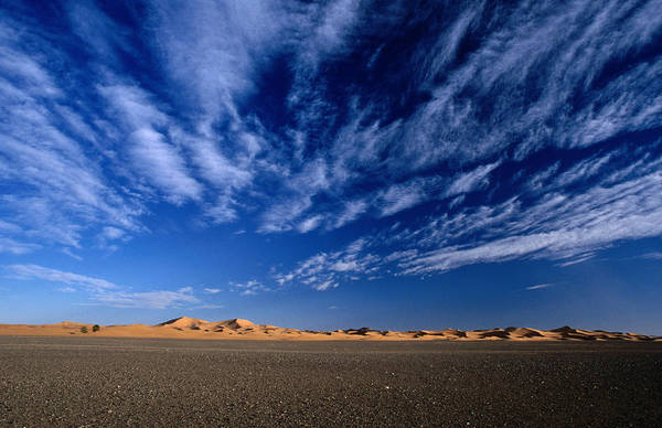 Wall Art - Photograph - Erg Chebbi, The Dunes Of Merzouga On by Mark Daffey