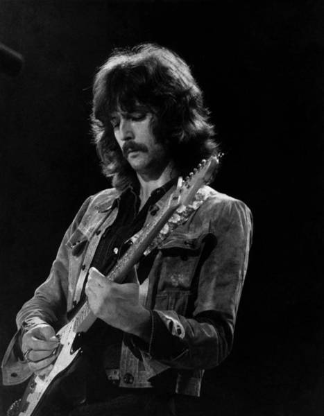 Guitarist Photograph - Eric Clapton On Concert Around 1970 by Keystone-france