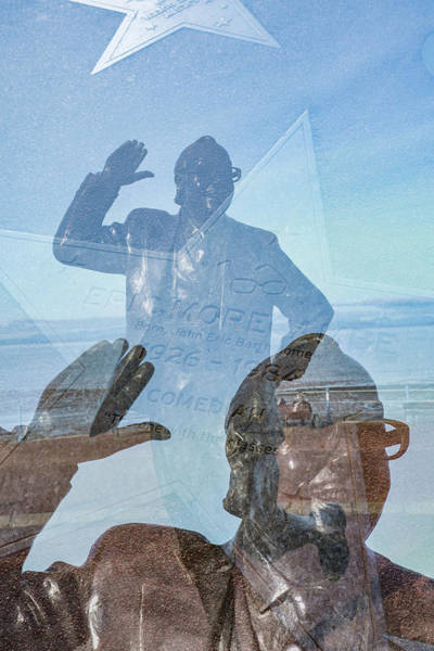 Tribute Photograph - Eric Morecambe by David Ridley