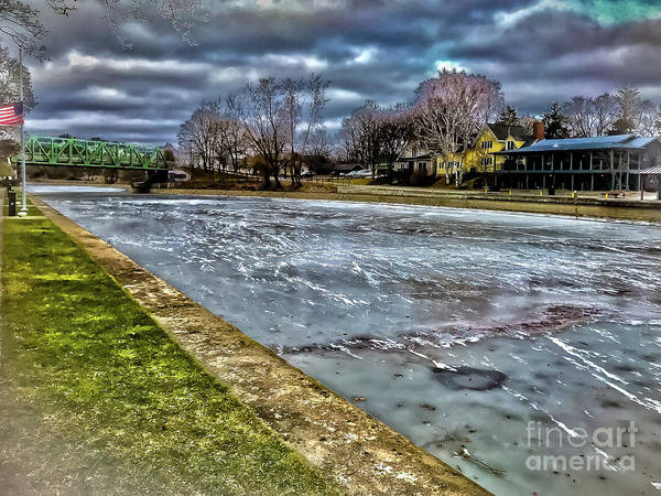 Photograph - Erie Canal Icing by William Norton