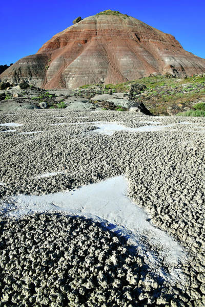 Photograph - Eroded Clay On Ruby Mountain by Ray Mathis