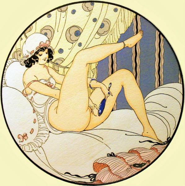 Wall Art - Painting - Eros Pleasure - Digital Remastered Edition by Gerda Wegener