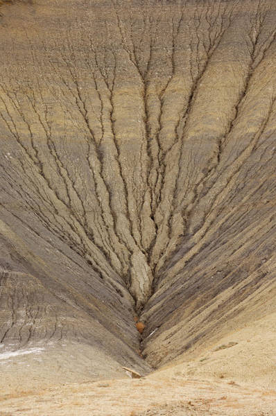 Grand Staircase National Monument Photograph - Erosion Pattern Close-up by Martin Ruegner