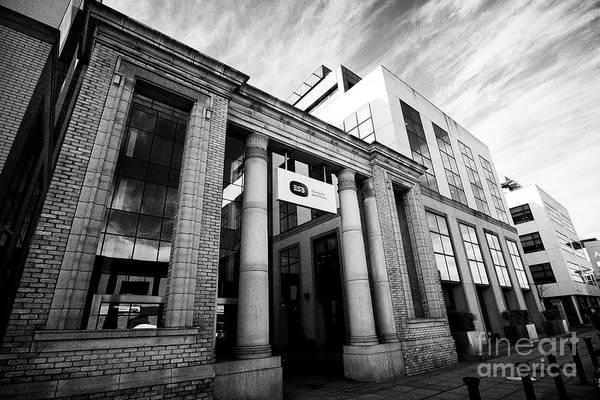 Wall Art - Photograph - Esb Electricity Supply Board Head Office Two Gateway East Wall Road Dublin Republic Of Ireland by Joe Fox