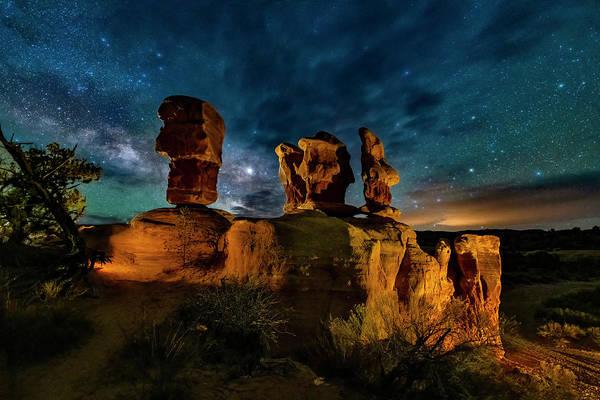 Photograph - Escalante Milky Way by Michael Ash