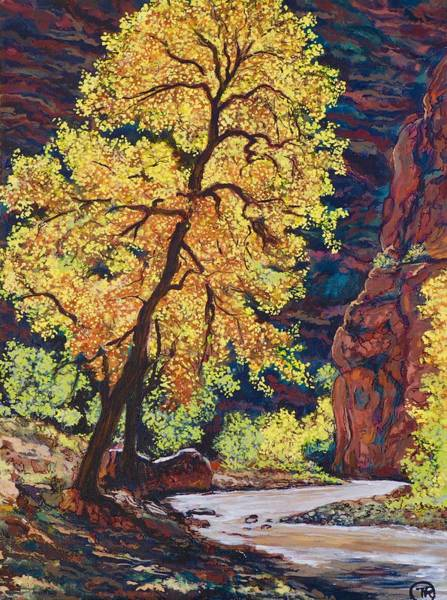 Painting - Escalante River South Utah by Tom Roderick