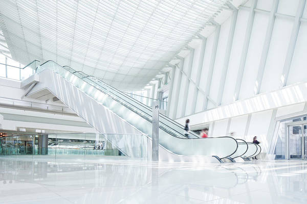 Customer Photograph - Escalator by Tomml