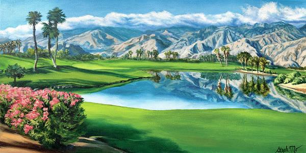 Painting - Escena Golf Club by Steph Moraca