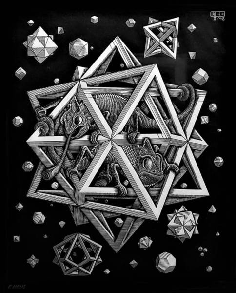 Photograph - Escher 111 by Rob Hans